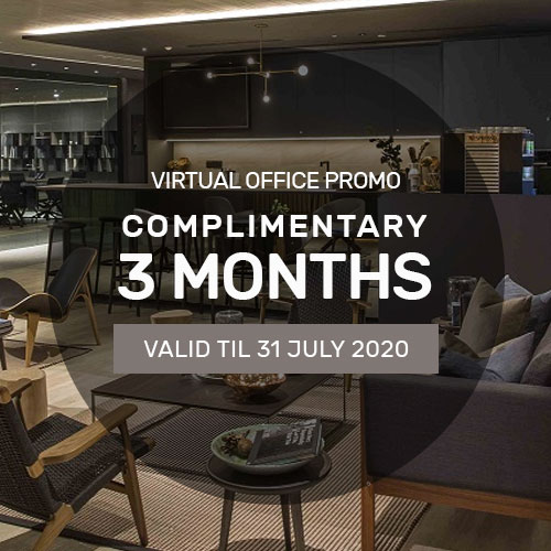 Complimentary 3 Months Virtual Office Promotion at Keppel Bay Tower