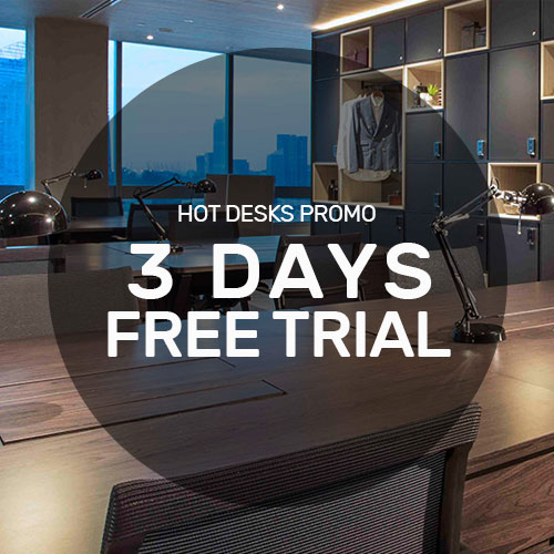 Free Hot Desk Trial at KLOUD Keppel Bay Tower for First Time Users