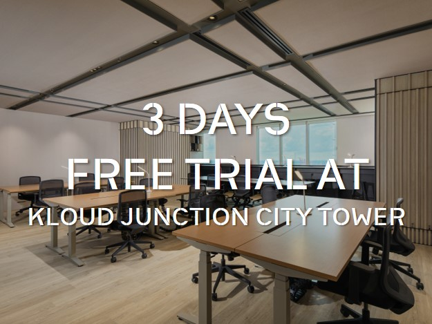 3 Days Free Trial at KLOUD Junction City Tower