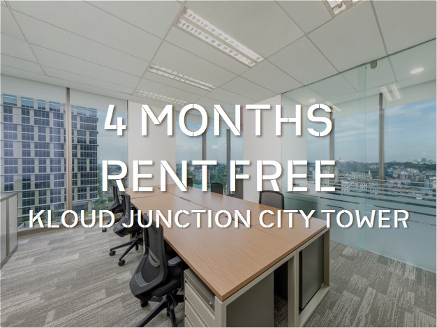 Enjoy 4 months rent-free at KLOUD Junction City Tower
