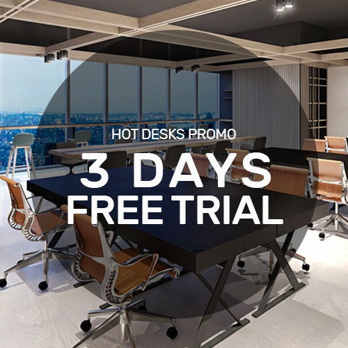 Complimentary Hotdesk Trial at KLOUD Junction City Tower