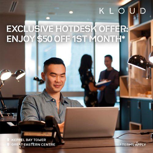 Promotion on Hotdesk Unlimited